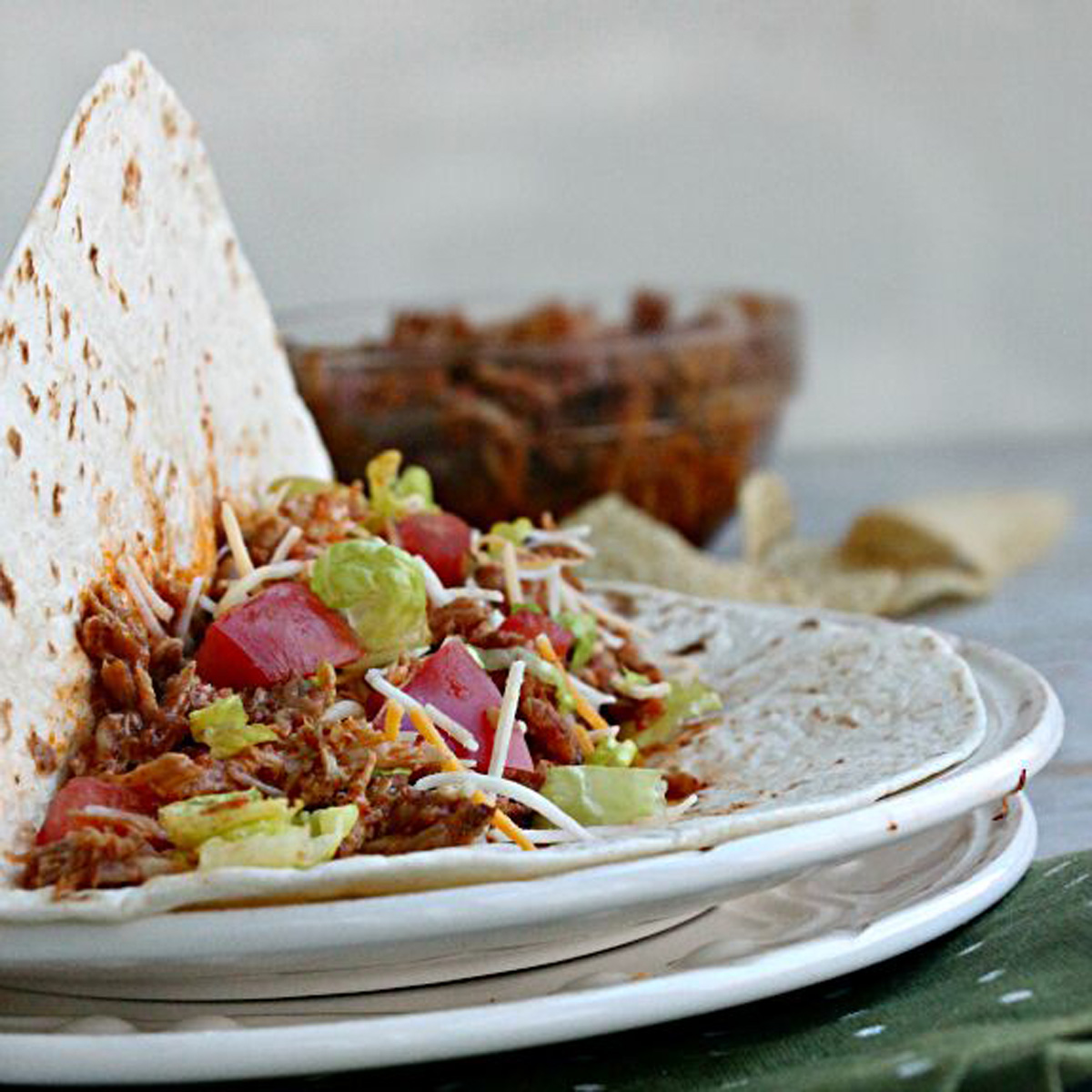 Slow Cooker Mexican Pulled Pork Tacos - Pork Recipes ...