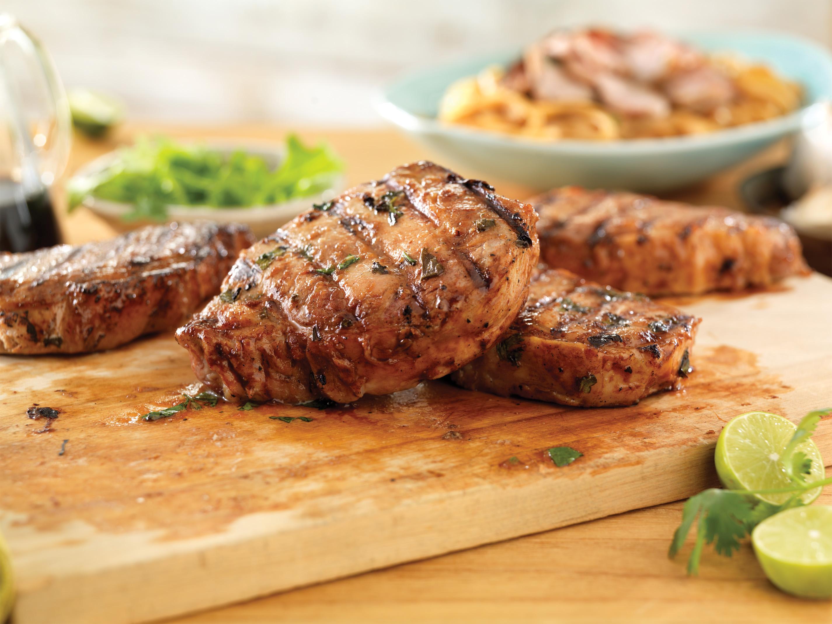 Thai Ribeye Pork Chops - Pork Recipes - Pork Be Inspired