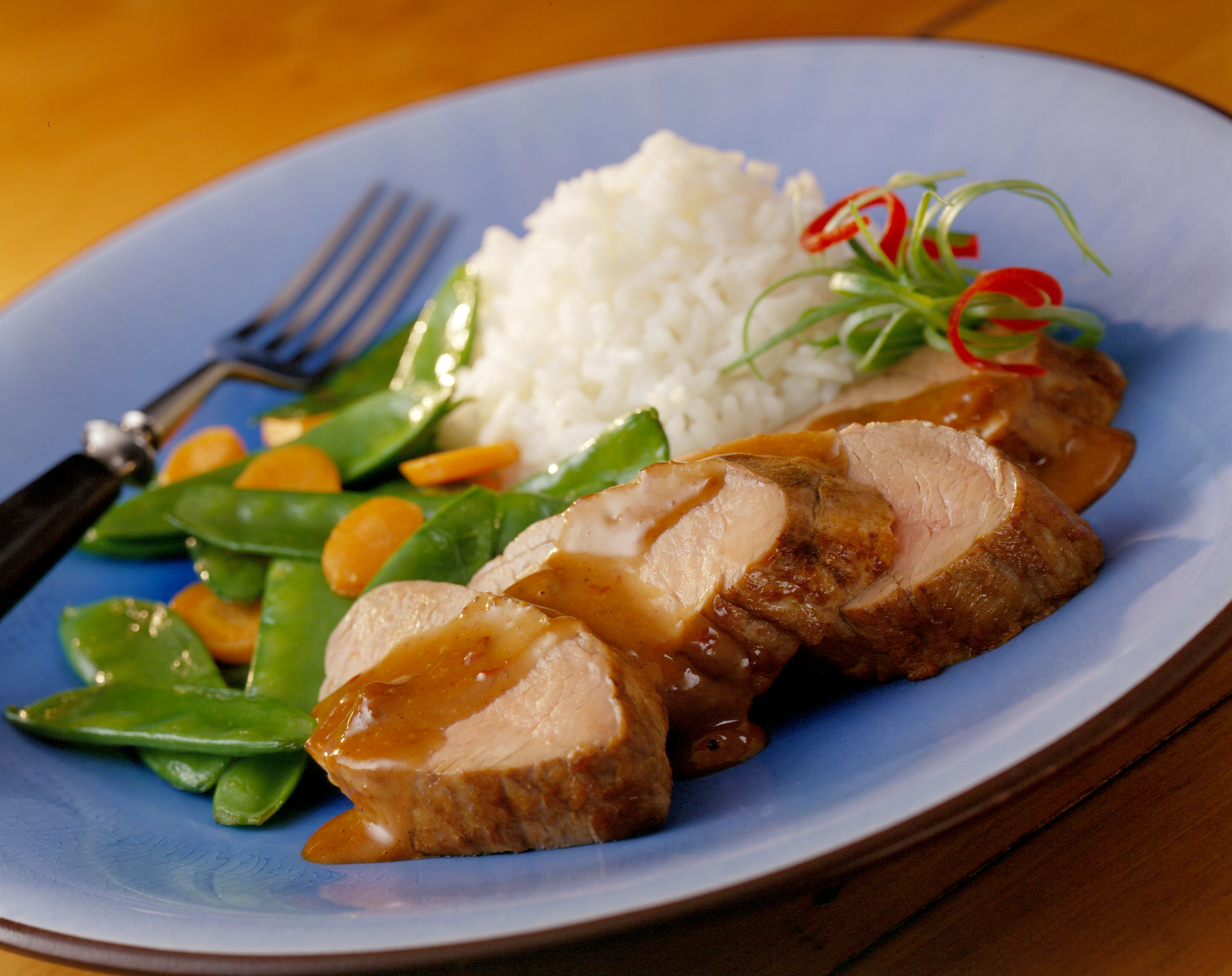 Pork Tenderloin With Hoisin Raisin Sauce