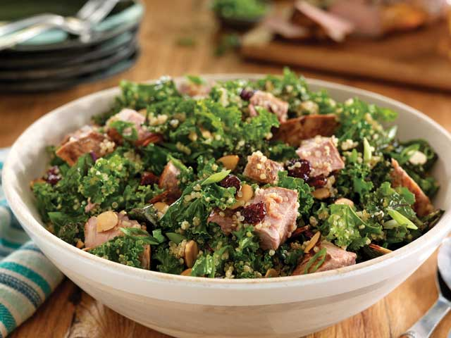 Pork Quinoa Salad with Cherries and Balsamic