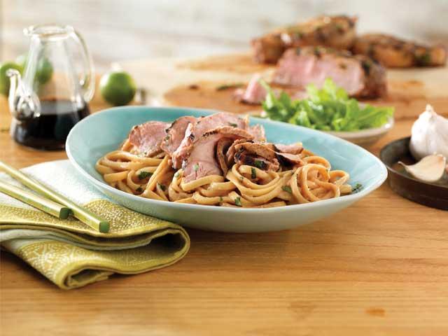 Thai Pork Noodle Bowl