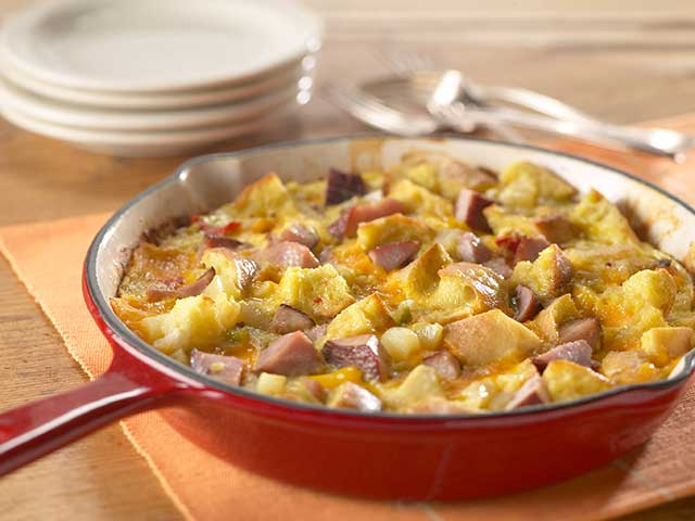 Anytime Ham and Cheese Frittata