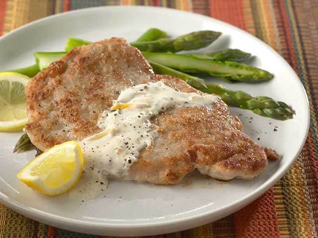 Lemon-Pepper Pork Cutlets