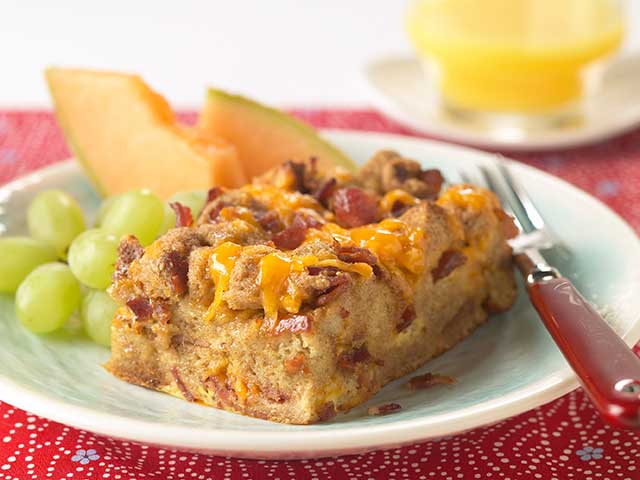 Overnight Bacon Casserole