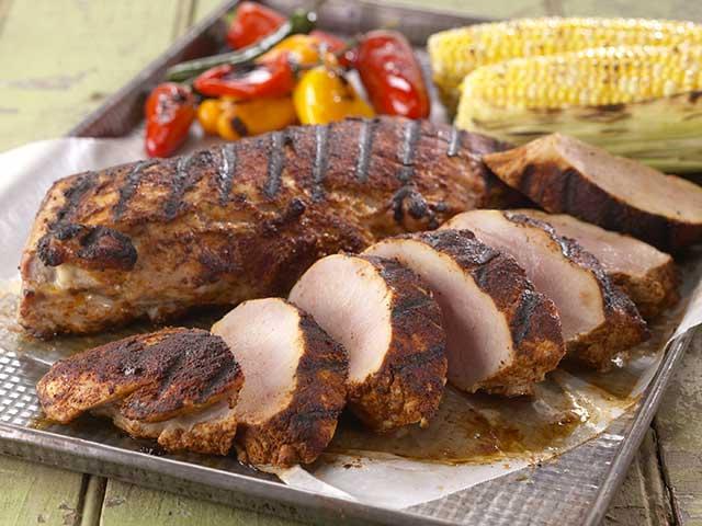 Southwestern Grilled Pork Tenderloin