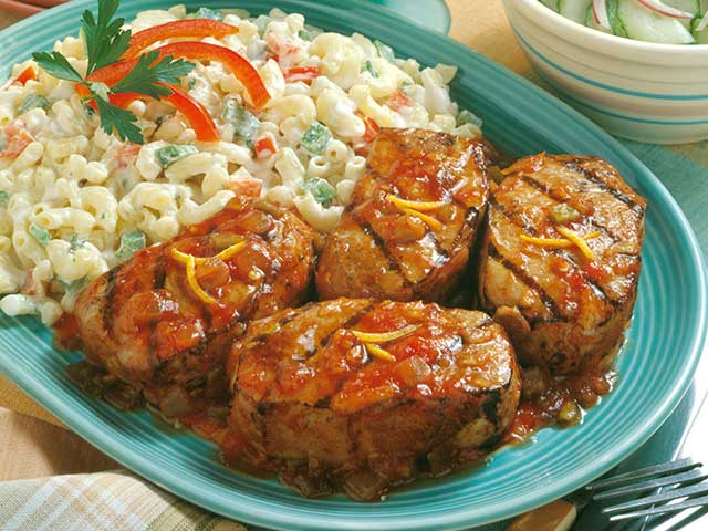 Spicy Grilled Chops